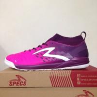 Sepatu Futsal Specs Barricada Magna IN Scandinavian Purple 400693 Ori