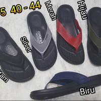 sandal jepit cowok luofu sendal japit pria karet import 6175 sp