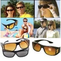 Kaca mata anti silau UV malam siang ask vision kacamata HD