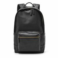 Fossil estate backpack black