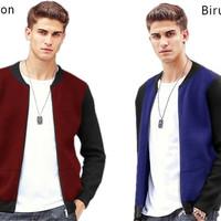 46485 jaket robert/jaket pria/jaket motor pria/jaket murah/baju pria