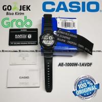 ORIGINAL CASIO Strap Rubber AE-1000W-1AVDF AE1000W AE-1000W AE-1000