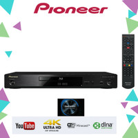 PIONEER BD180-BLURAY DVD CD PLAYER +USB++LAN+OPTICAL+RCA [RESMI]