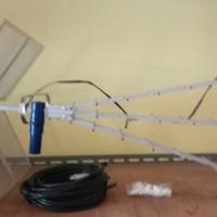Antena TV TiTis + 20 mtr kabel belden + jack + klem kabel