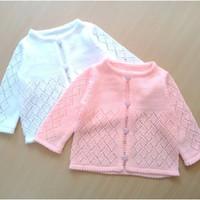 Sweater cardigan jaket bayi anak cewek rajut