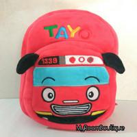 Backpack Import Tas Ransel Anak Boneka Tayo The Little Buss