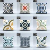 Sarung Bantal Sofa size 40x40 cm (Cushion Cover) motif vintage