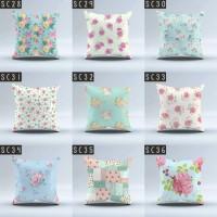 Sarung Bantal Sofa size 40x40 cm (Cushion Cover) motif shabby chic
