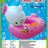 Hello Kitty Baby Float Boat. Ban Pelampung Renang Batita Duduk