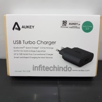 AUKEY Charger Quick Charge 2.0 Fast Charging grs resmi PA-U28