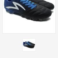 Sepatu Bola Specs Equinox FG Black Tulip Blue