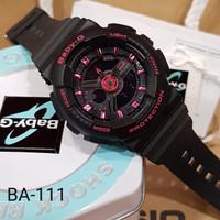 Baby g ba-110 gba-110 ga-110 ga110 black pink ori bm
