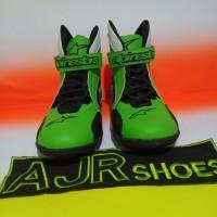 Sepatu drag alpinestar hijau hitam putih
