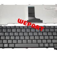 keyboard laptop Toshiba L645 C600 C640 L600 L630 L635 L640 Hitam Doff