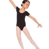 Leotard ballet baju senam anak lengan pendek