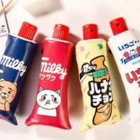 tempat pensil odol kartun stationary korea alat tulis unik stp015