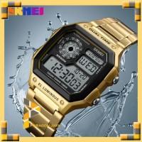 Jam Tangan Pria Digital Sport SKMEI 1335 Original Gold Casio Citizen
