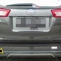 Pengaman bamper belakang innova reborn Real skide plate Innova Reborn