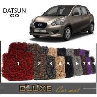 Karpet Mobil COMFORT Deluxe Datsun GO Full Set