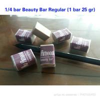 Sabun Nu Amoorea Beauty Bar 1/4 bar (dari 1 bar 25 gr) Original