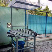 Kebun Set Mini Garden Hidroponik/ Taman Mini Peralon Pot Hydroponic