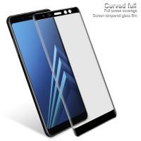 Tempered Glass 5D Samsung A8 Plus 2018 FULL LEM - Anti Gores