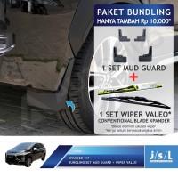 PROMO BUNDLING Mud Guard Xpander Wiper Valeo Sepasang Ukuran Bebas