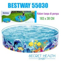 Kolam Renang Bestway Anak Keluarga Tanpa Pompa 183 Cm Ikan Nemo 55030