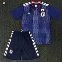 Jersey baju bola anak / kids piala dunia 2018 jepang home