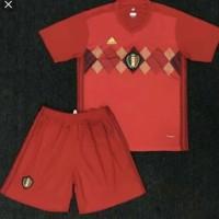 Jersey baju bola anak / kids Belgia home piala dunia 2018