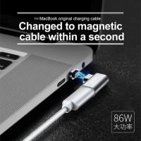 BASEUS Magnetic USB Type c Elbow Adapter Converter Macbook Pro
