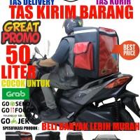 Tas ransel Delivery Kurir dan Laundry 50 Liter merah