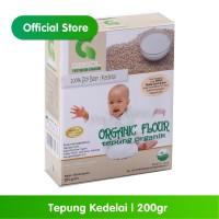 GASOL Organik Tepung Kedelai 200Gr / 200 Gr / Makanan Bayi