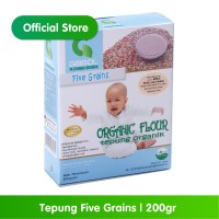 GASOL Organik Tepung Five Grains 200Gr / 200 Gr / Makanan Bayi