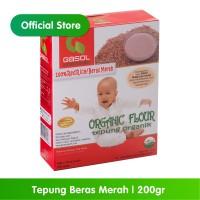 GASOL Organik Tepung Beras Merah 200Gr / 200 Gr /Makanan Bayi
