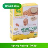 GASOL Organik Tepung Jagung 200Gr / 200 Gr / Makanan Bayi