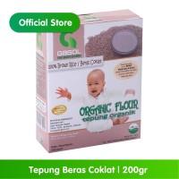 GASOL Organik Tepung Beras Coklat 200Gr / 200 Gr / Makanan Bayi