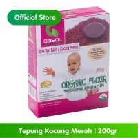 GASOL Organik Tepung Kacang Merah 200Gr / 200 Gr / Makanan Bayi