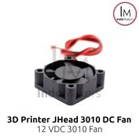 DC Mini Cooling Fan 3010 12V for 3D Printer / Computer 2 pin