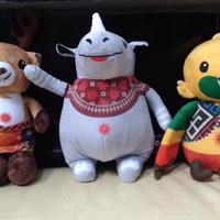 Boneka Maskot Asian Games 2018 Original