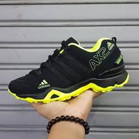 Sepatu Adidas AX2 GRADE ORIGINAL BLACK NEON RUNNING OLAHRAGA FITNES