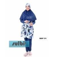 Baju Renang Wanita Muslimah L dan XXL Dewasa Sulbi-SBDP