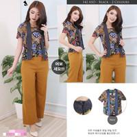 Kutubaru blouse batik katun stretch good quality atasan baju kutu baru