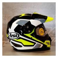 Arai tourcross 3 catch yellow