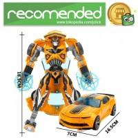 Mainan Mobil Action Figure Transformer - Bumblebee