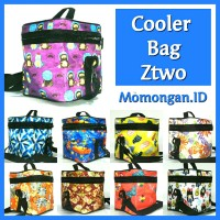 Cooler Bag ASI Ztwo + Free 2 pcs Ice Gel Penyimpan ASI