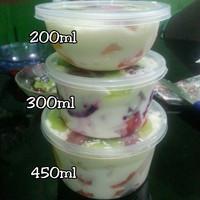 salad buah cup 200ml