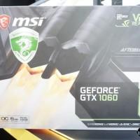 VGA MSI GeForce GTX 1060 6GB DDR5 - 6GT OC V2
