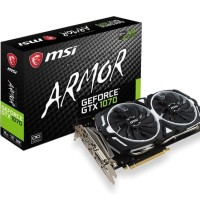 VGA MSI GeForce GTX 1070 8GB DDR5 - Armor 8G OC