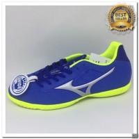 [KS] Sepatu futsal mizuno Rebula V3 in strong blue 2018